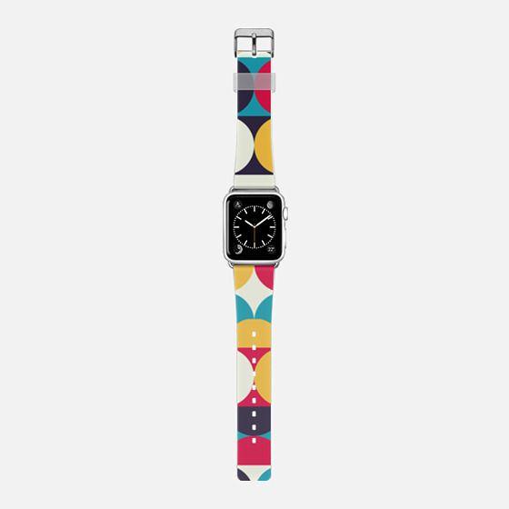 Orbit - Saffiano Leather Watch Band