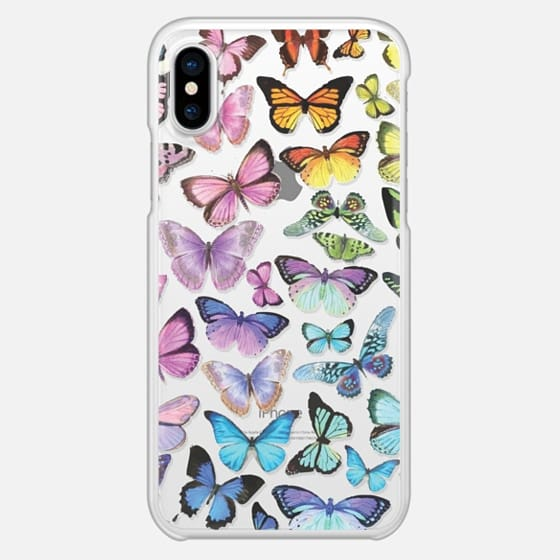 Butterfly Rainbow - Snap Case