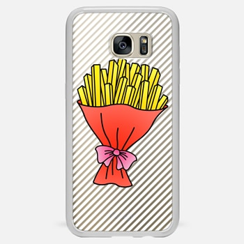 Samsung Galaxy S7 Edge ケース Fries Bouquet