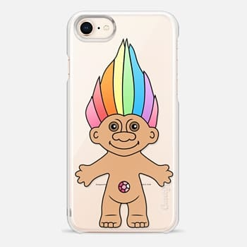 iPhone 8 Case Rainbow Troll