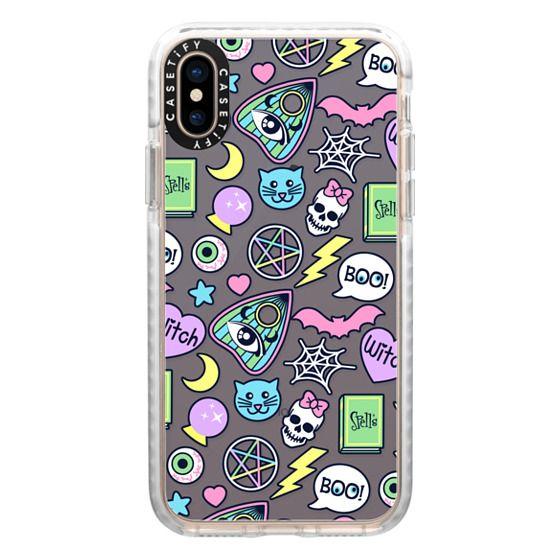 iPhone XS Cases - Dark Spooky Babe