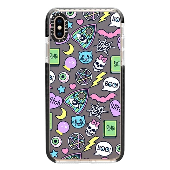 iPhone XS Max Cases - Dark Spooky Babe