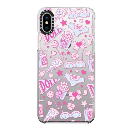 iPhone X Cases - Girl Power