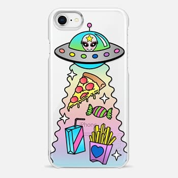 iPhone 8 Case Space Food