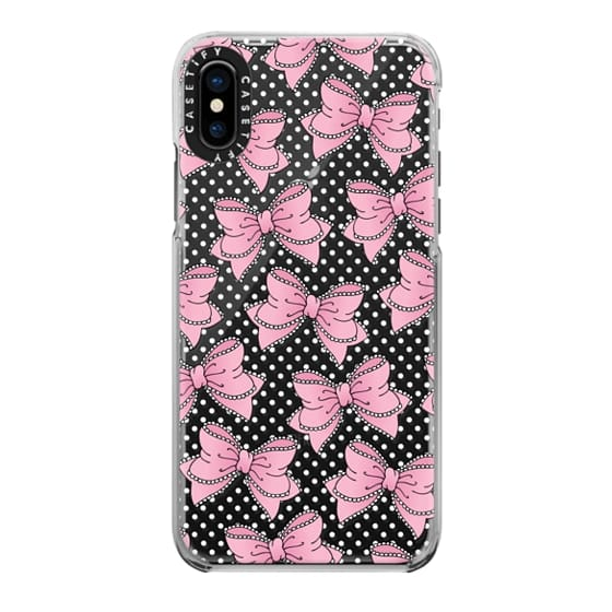 iPhone X Cases - Lacy Bow