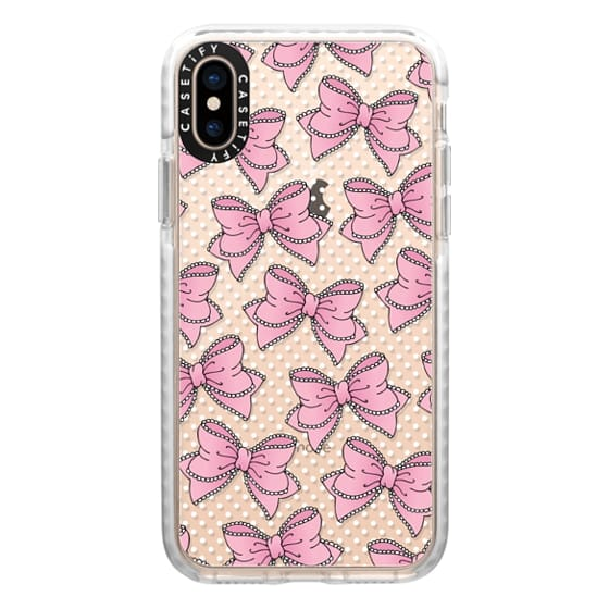 iPhone XS Cases - Lacy Bow