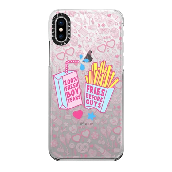 iPhone X Cases - Foods Before Dudes