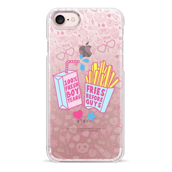 iPhone 7 Cases - Foods Before Dudes