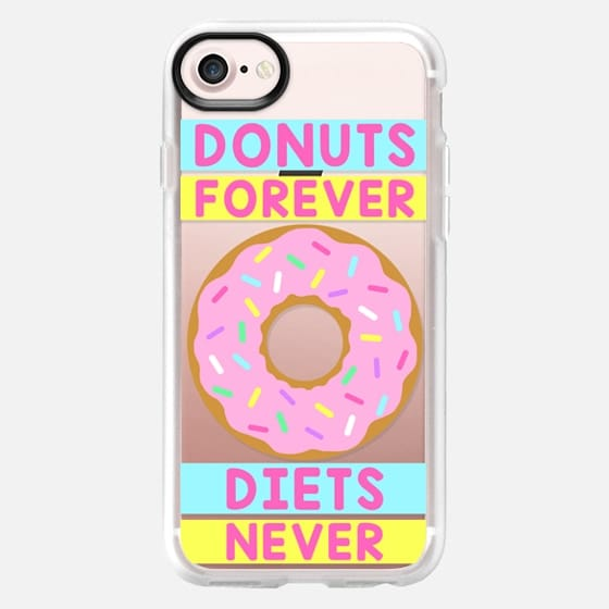 Donuts Forever - Diets Never - Classic Grip Case
