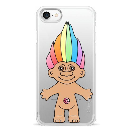 iPhone 7 Cases - Rainbow Troll