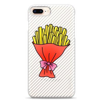 Snap iPhone 8 Plus Case - Fries Bouquet