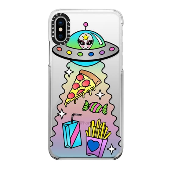 iPhone X Cases - Space Food