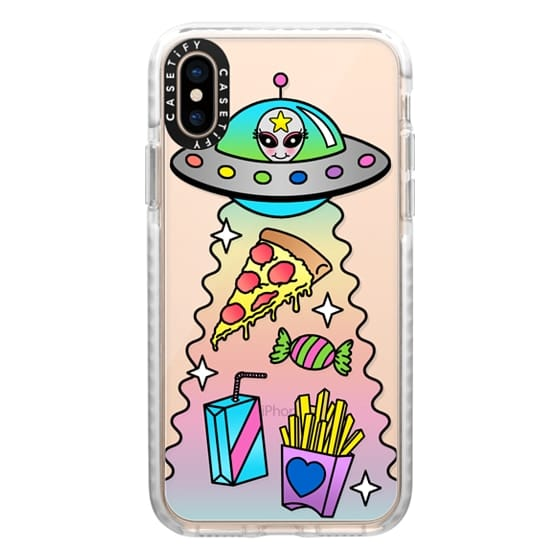 iPhone XS Cases - Space Food