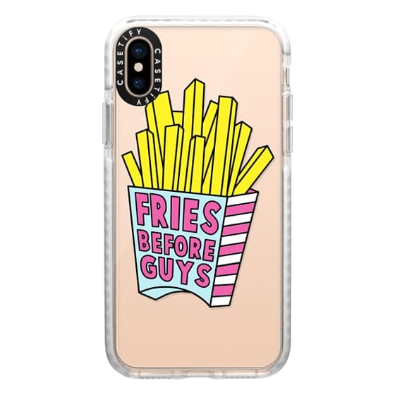 iPhone XS Cases - More Fries Before Guys