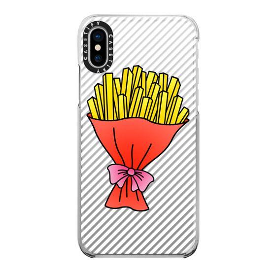 iPhone X Cases - Fries Bouquet