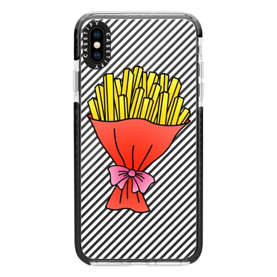iPhone XS Max Cases - Fries Bouquet