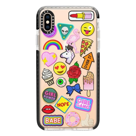 iPhone XS Max Cases - Patch Collection