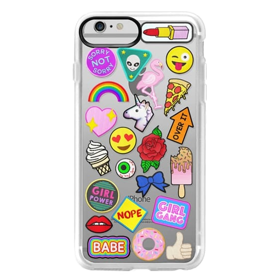 iPhone 6 Plus Cases - Patch Collection