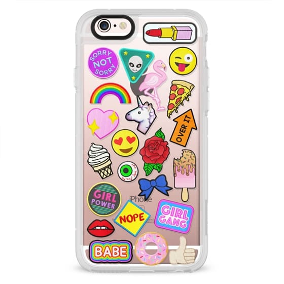 iPhone 4 Cases - Patch Collection