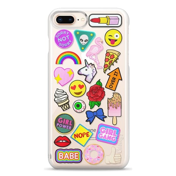 iPhone 8 Plus Cases - Patch Collection