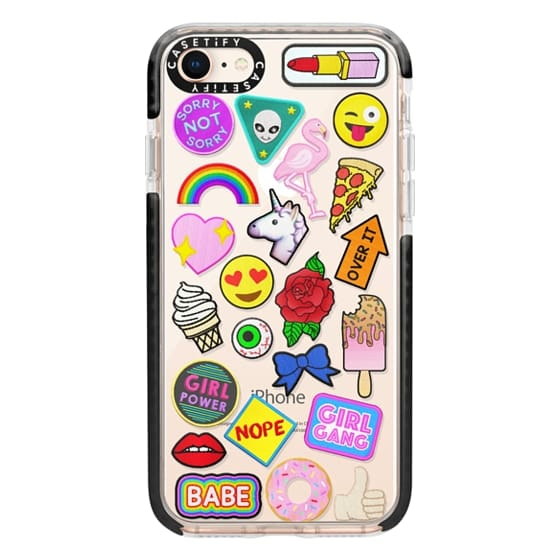 iPhone 8 Cases - Patch Collection