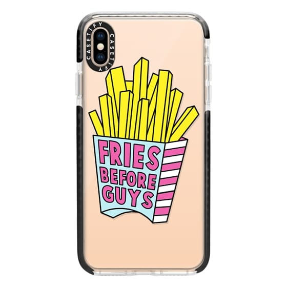 iPhone XS Max Cases - More Fries Before Guys