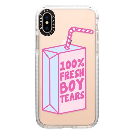 iPhone XS Cases - Fresh Boy Tears
