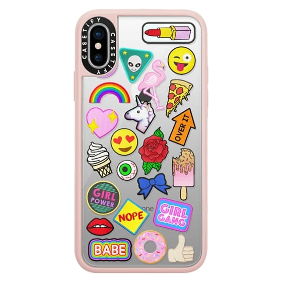iPhone X Cases - Patch Collection