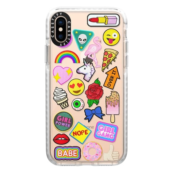 iPhone XS Cases - Patch Collection