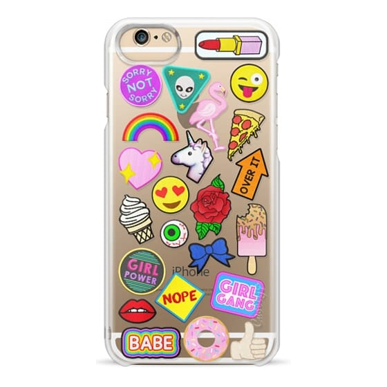 iPhone 6 Cases - Patch Collection