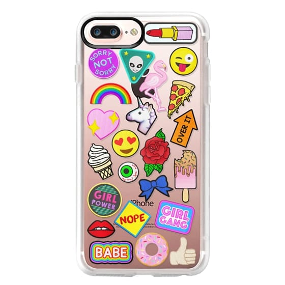 iPhone 7 Plus Cases - Patch Collection