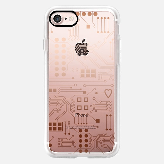 Electronica-copper - Classic Grip Case
