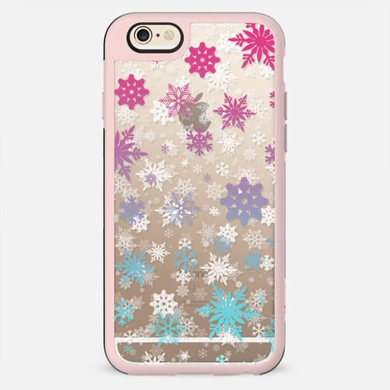 Rainbow - snowflake - New Standard Case