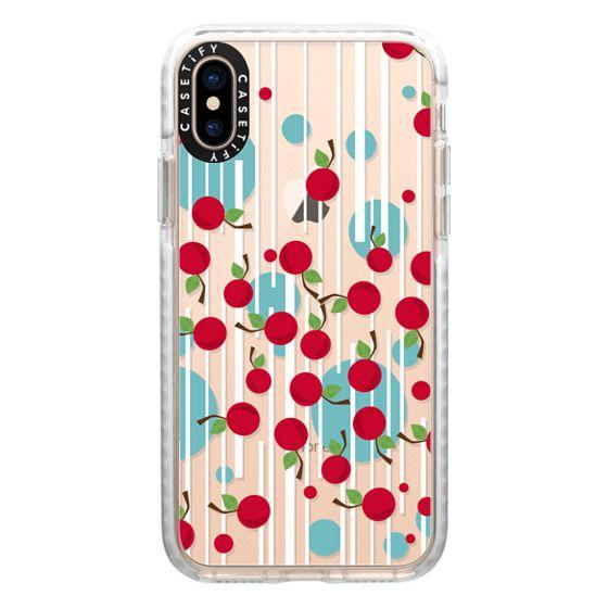 iPhone XS Cases - Cherry Saga