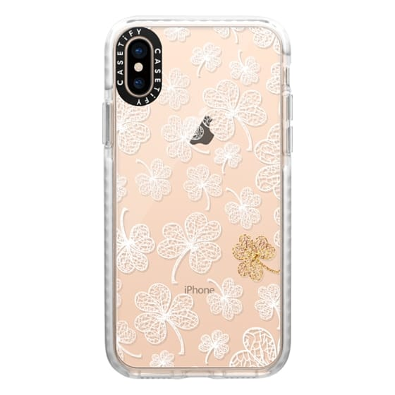 iPhone XS Cases - Lucky - metal