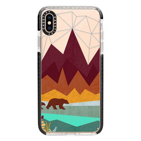 iPhone XS Max Cases - Peak - Ghost