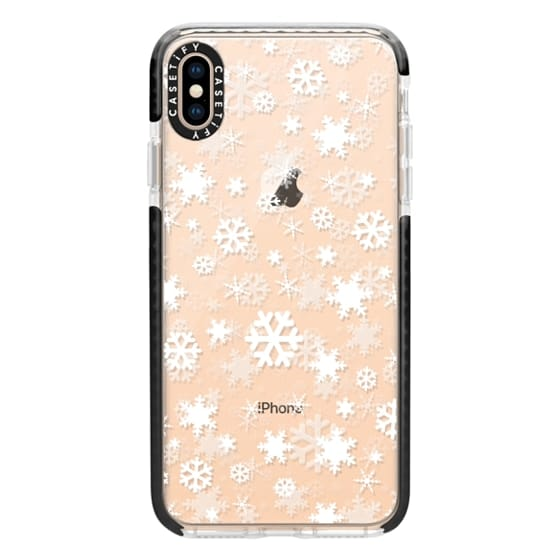 iPhone XS Max Cases - Snowflake - white