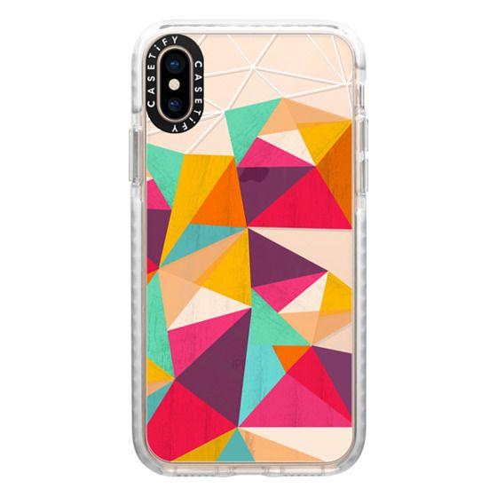 iPhone XS Cases - Ghost diamond