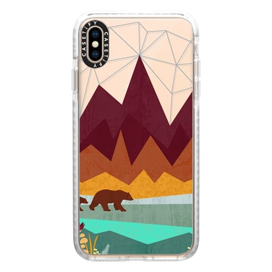 iPhone XS Max Cases - Peak - Ghost