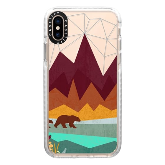 iPhone XS Cases - Peak - Ghost