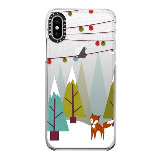 iPhone X Cases - Winter - ghost
