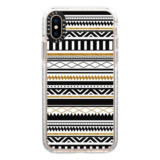 iPhone XS Cases - Aztec