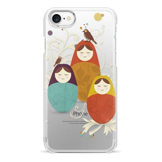 iPhone 7 Cases - Matriochka - Ghost