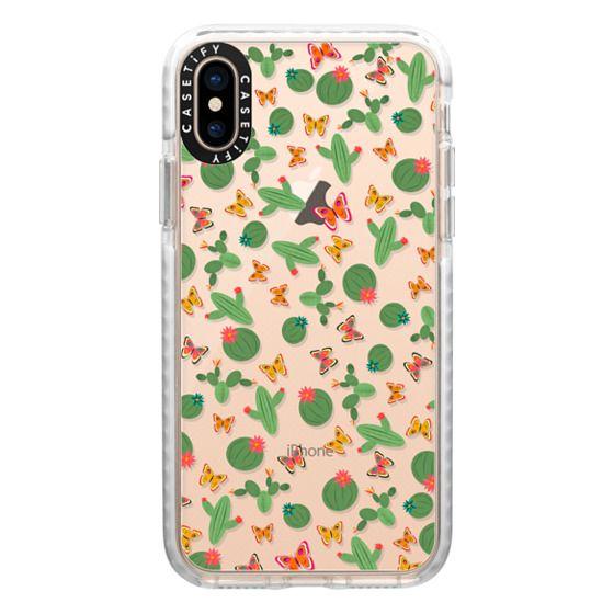 iPhone XS Cases - Cactus - ghost