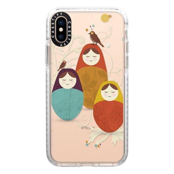 iPhone XS Cases - Matriochka - Ghost
