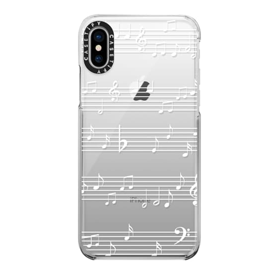 iPhone X Cases - Music to my ears