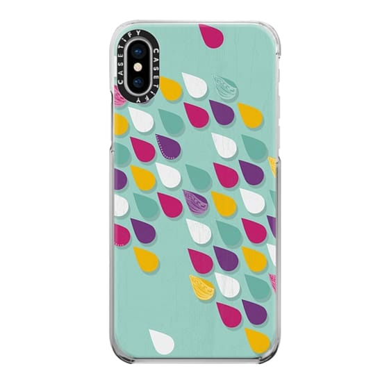 iPhone X Cases - Raindrop