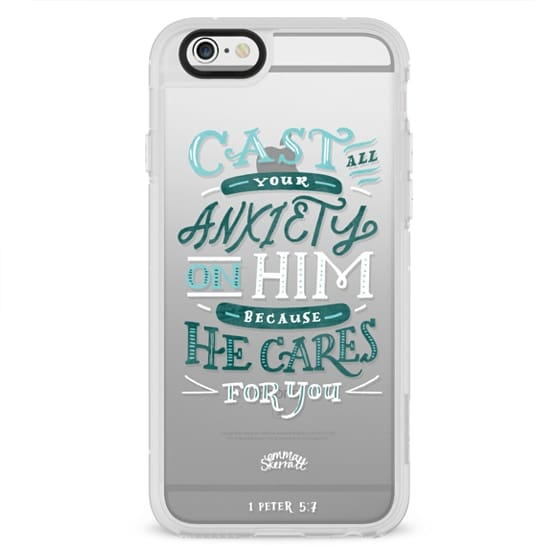 Impact iPhone 7 Case - 1 PETER 5-7 BIBLE VERSE CASE