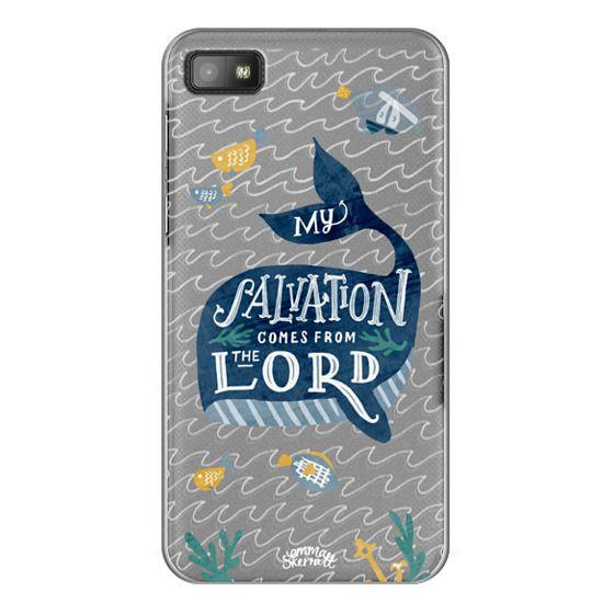 Blackberry Z10 Cases - Jonah 2:9  Bible Verse Case