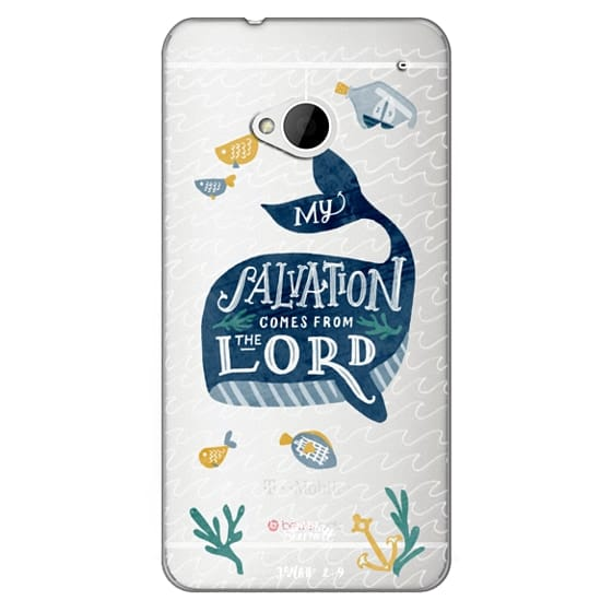 Htc One Cases - Jonah 2:9  Bible Verse Case